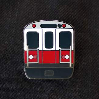 Boston Red Line Pin