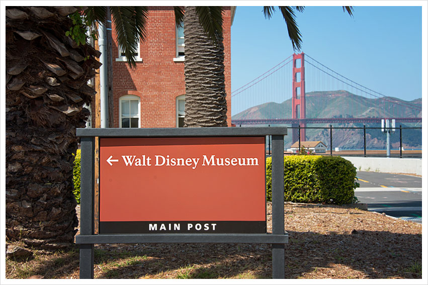 Visiting Walt Disney Museum in the Presidio - San Francisco