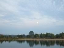 The beach at Ottawa Lake