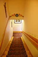 Staircase to the 2nd floor rooms.