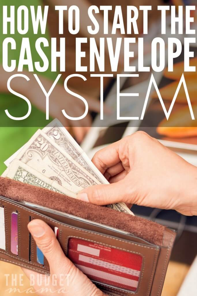 How to Start the Cash Envelope System from The Budget Mama [Weekly Round-Up at High-Heeled Love]