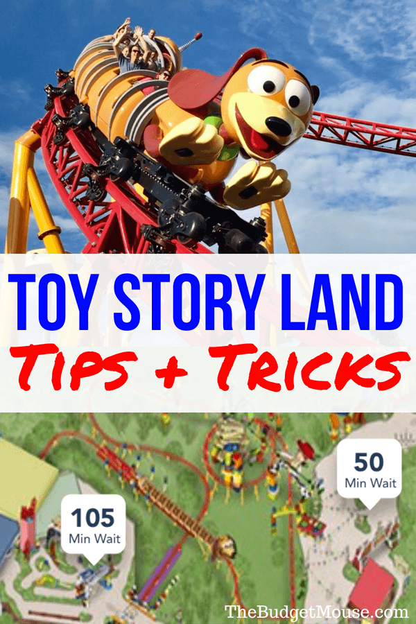 Tips and tricks for Toy Story Land at Disney World! Characters, food, attractions, FastPass, rides, and dining at this new land in Hollywood Studios.
