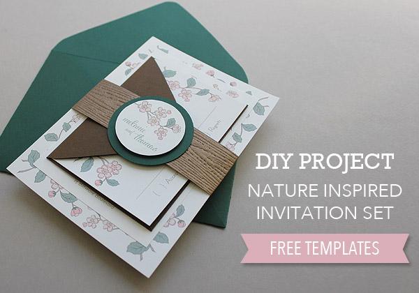 Free Spring Wedding Invitation Printable