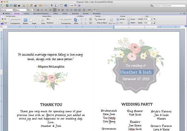 Program Templates Word. Program Word Templates Download Free ...