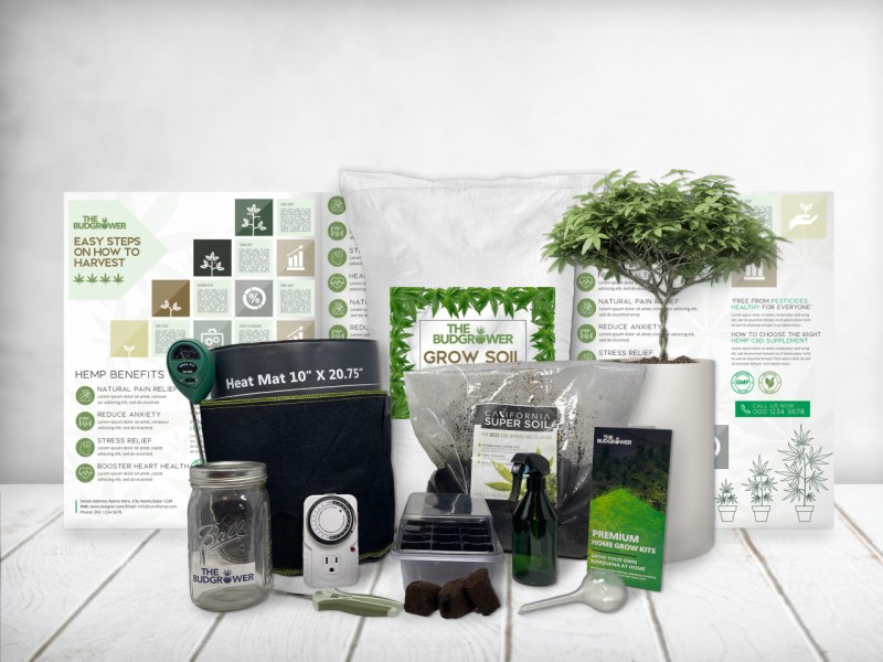 comprehensive grow kit without light