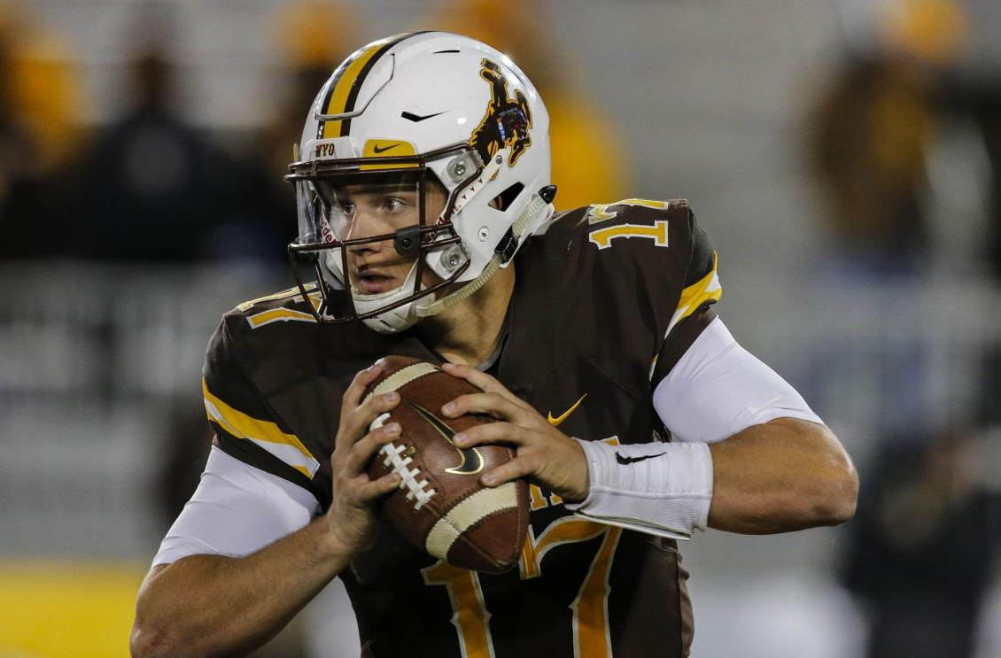 Josh Allen from Wyoming to the Buffalo Bills