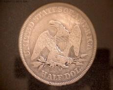1856 Seated Liberty Back