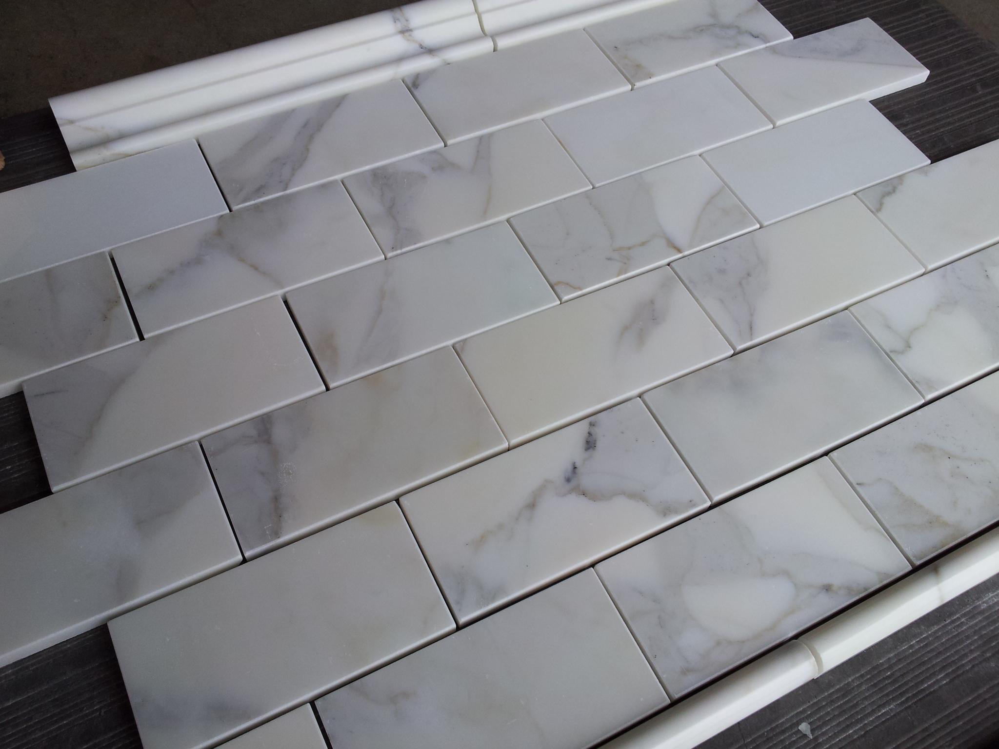 calacatta 3 6 subway tile the