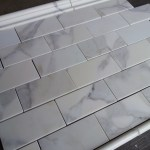 Calacatta 3 6 Subway Tile Marble The Builder Depot Blog