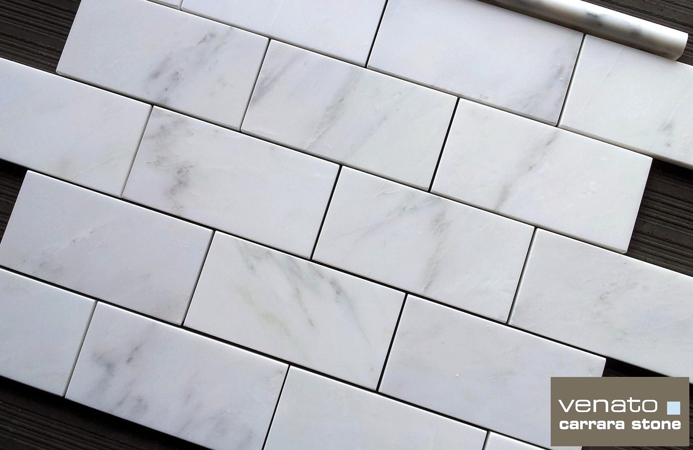 carrara venato 3 6 subway tile honed