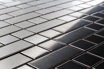 Rectangles and Squares Metal Mosaic