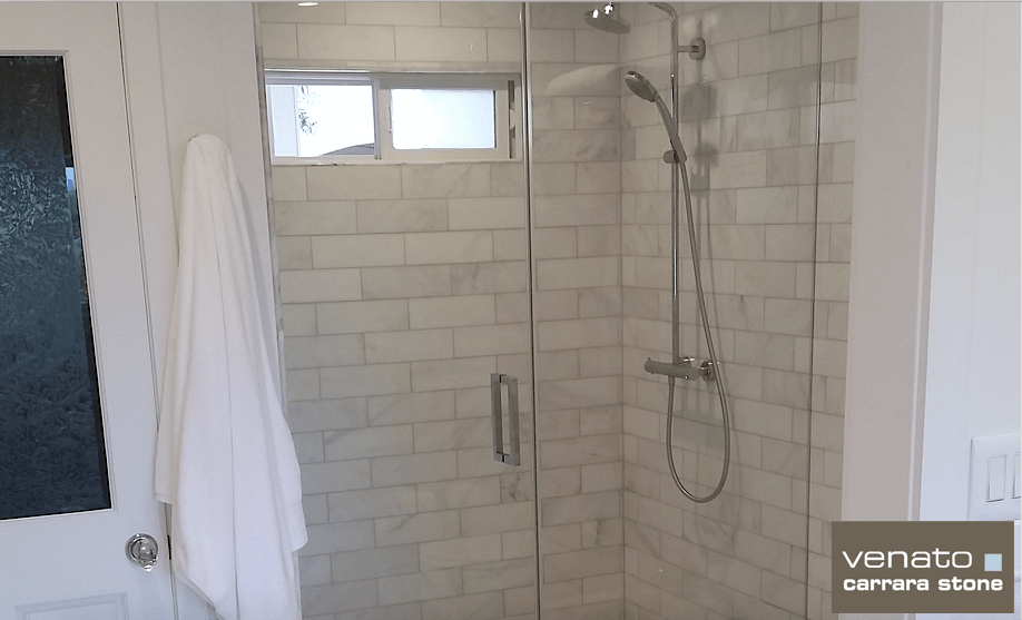 carrara venato polished bathroom the