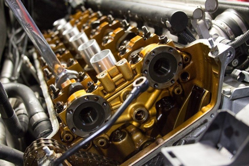 E46 M3 Valve Cover - Beisan Systems S54 VANOS Rebuild at Lang Racing Development
