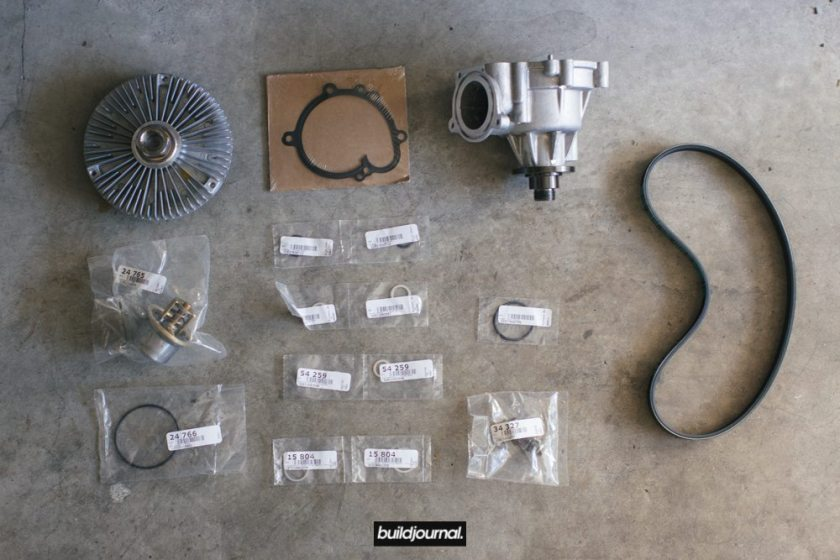 E46 M3 Water Pump & Thermostat DIY