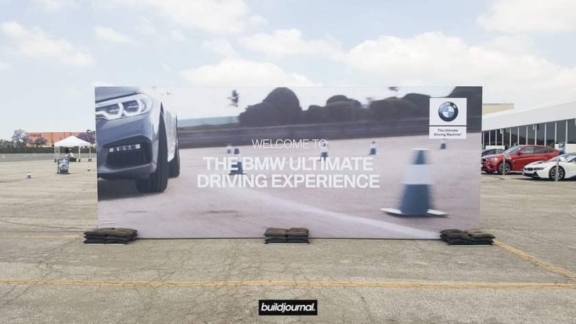 BMW G30 540i Autocross