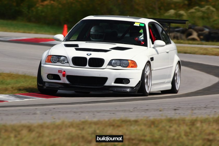 Huy's E46 M3 with B-Spec Tune at Putnam Park