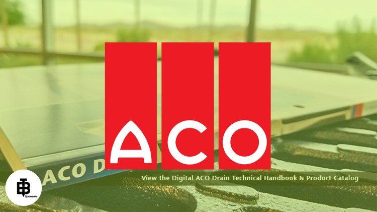 Introducing One of Our Sponsors – ACO Drains