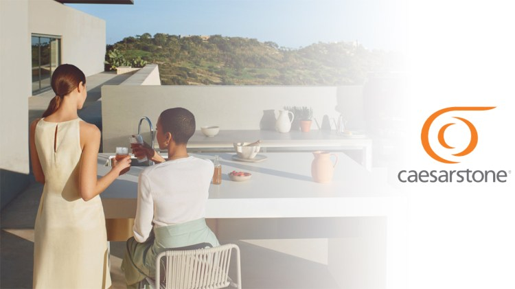 The Outdoor Collection From Caesarstone – Made for Outdoor Living