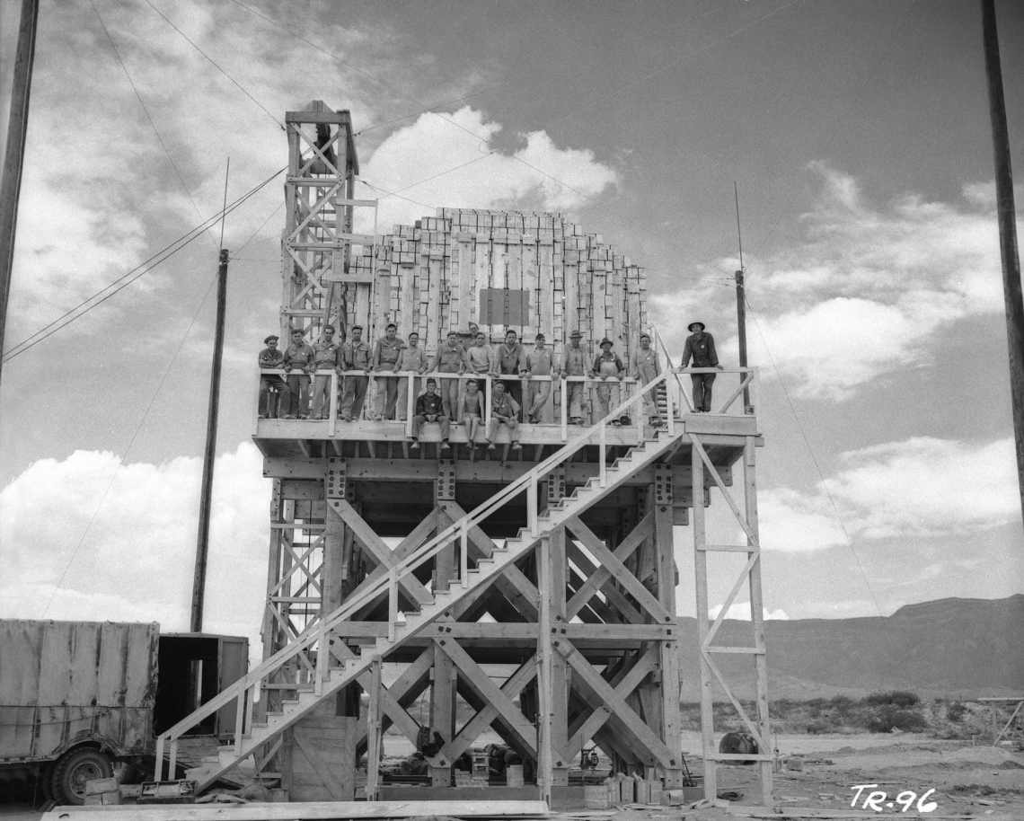 "108 tons of explosives were detonated for a May 7 ""dress-rehearsal"" that evaluated various experimental systems critical to the actual nuclear test."