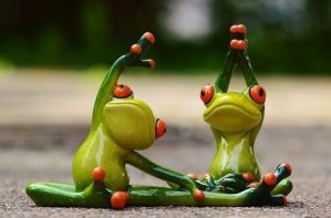 resistance training frogs