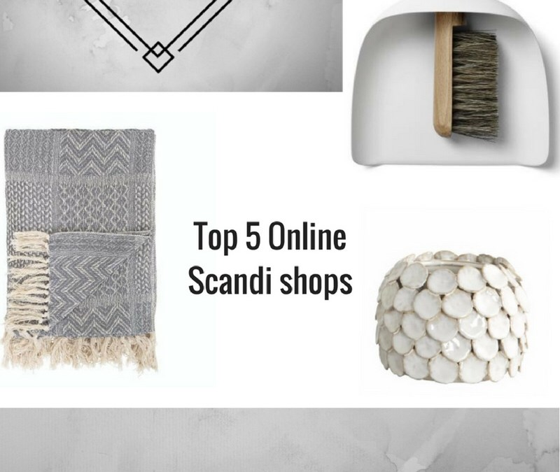 Top five online Scandi homeware shops.