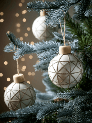 geometric baubles