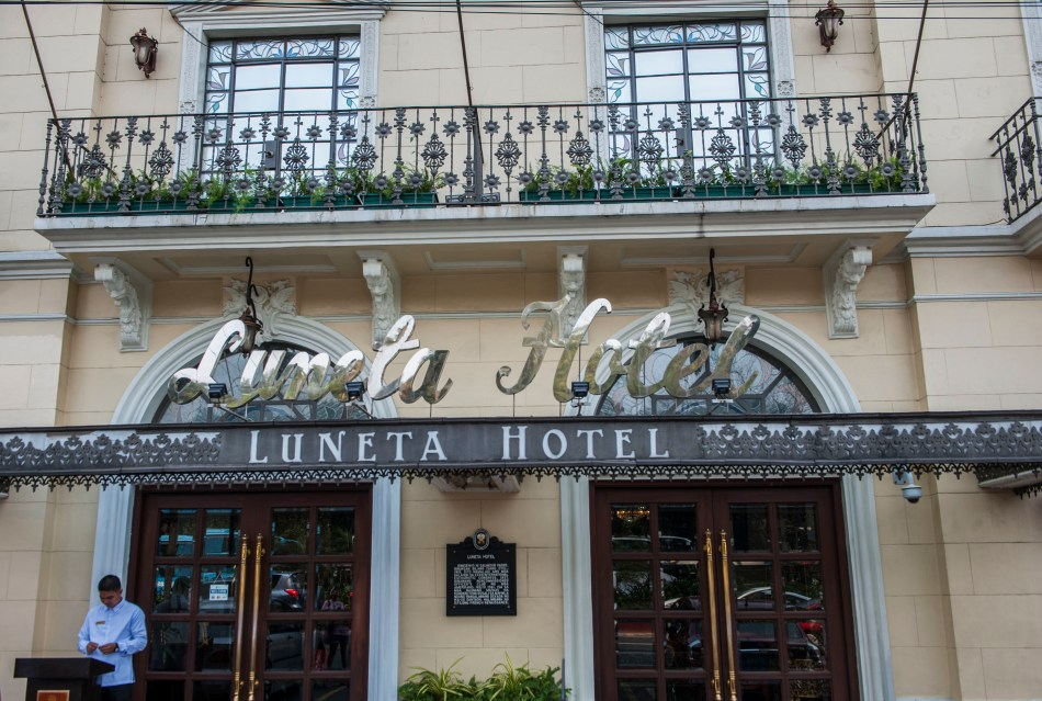 Luneta Hotel Facade