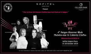 Saigon Gourmet Week Launches With All Female Star Cast