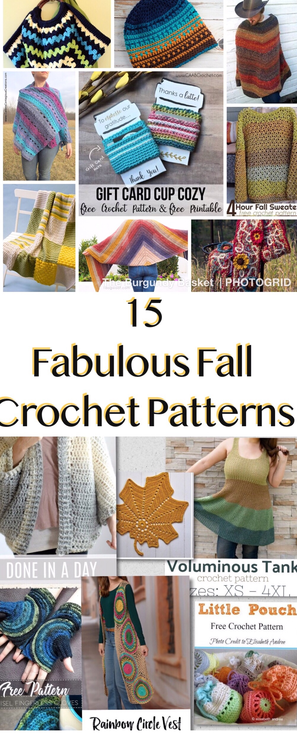 graphic about Free Printable Crochet Patterns identify 15 Fantastic Drop Crochet Roundup Practices The