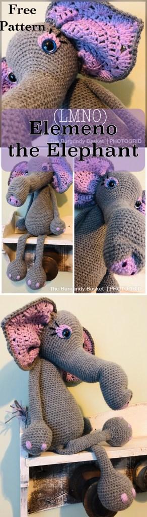 Elemeno the Elephant: Crochet Elephant Pattern – The