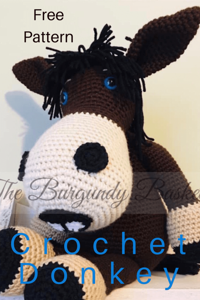 Amigurumi Cute Donkey Free Pattern – Free Amigurumi Patterns | 994x663