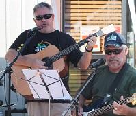 John (guitar) and Steve (bass)