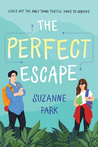 Book cover for The Perfect Escape by Suzanne Park