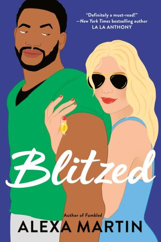 Book cover of Blitzed by Alexa Martin
