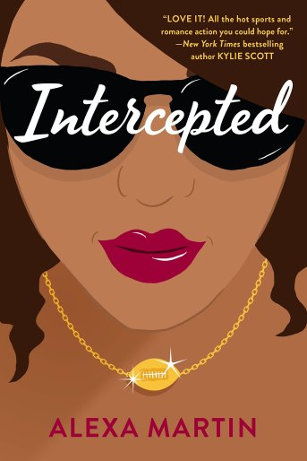 Book cover of Intercepted by Alexa Martin