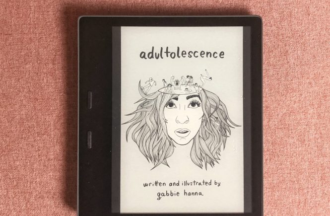 Adultolescence by Gabbie Hanna on Kindle