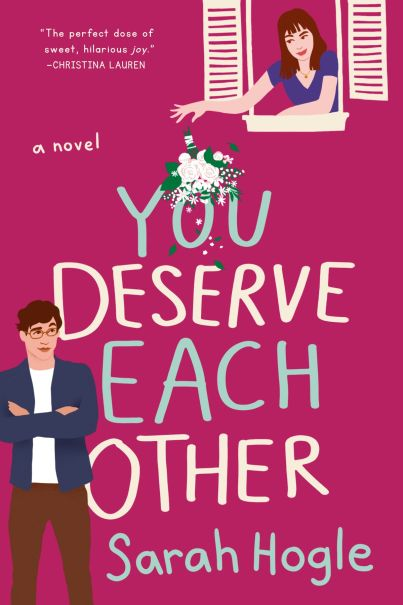 you deserve each other by sarah hogle book cover