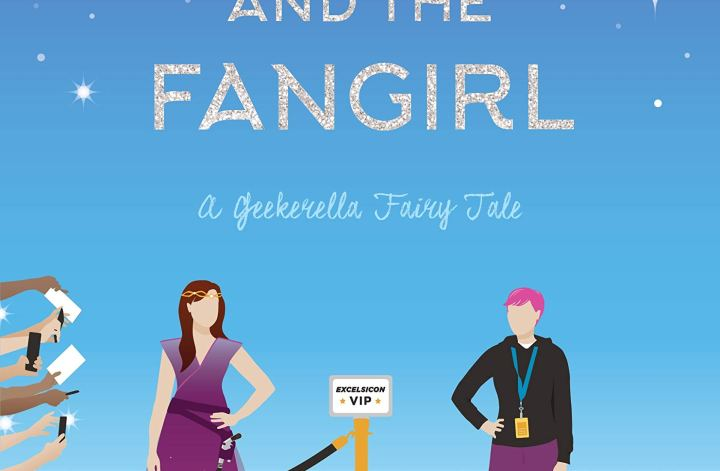 Princess and the Fangirl by Ashley Poston book cover