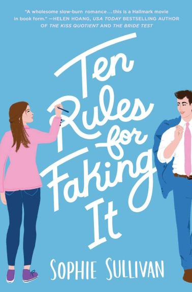 ten rules for faking by sophie sullivan book cover