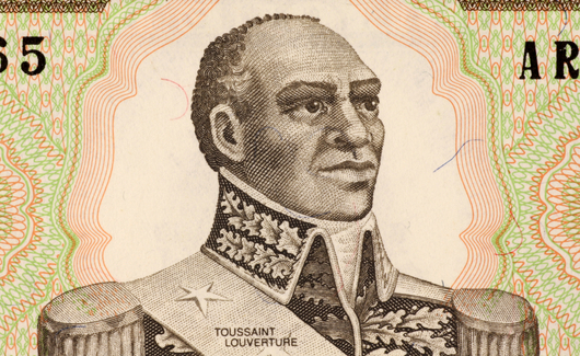 Francois-Dominique Francois-Dominique Toussaint L'Ouverture was a  Haitian patriot and revolutionary leader. (Google Images)