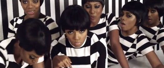 Janelle Monae's ode to powerful women in the song and video Q.U.E.E.N. (Google Images)