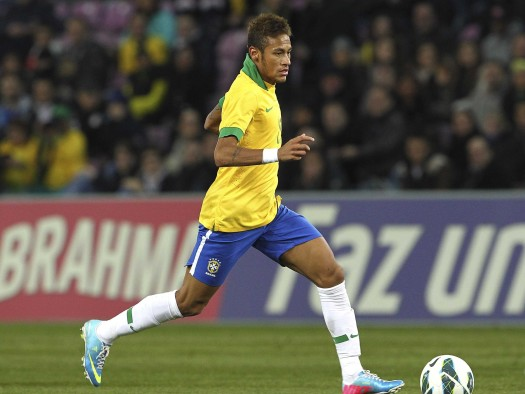Can Brazil's Neymar lead help beat world champion Spain in the 2013 Confederation Cup final? (Google Images)