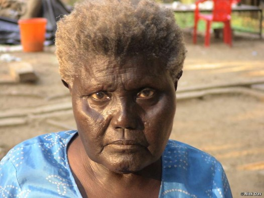 Boa Sr., the last member of a 65,000-year-old tribe has died.  (Photo credit: Alok Das)