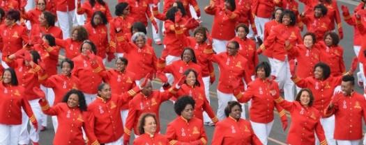 Women of Delta Sigma Theta Sorority celebrate their Centennial. (Google Images)