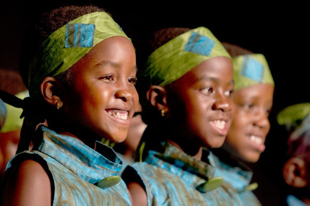 The African Children's Choir sings all over the world raising funds to educate choir members. (Photo Credit: ACC)