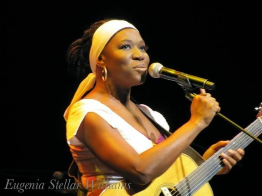 "India Arie performs at Cobb Energy Centre in Atlanta, Ga.  Photo Credit: Eugenia ""Stellar"" Williams/Stellar Productions"