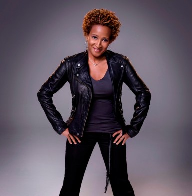 Comedian Wanda Sykes discusses her latest project 'Herlarious' on OWN.  (Photo Credit: Roger Erickson)