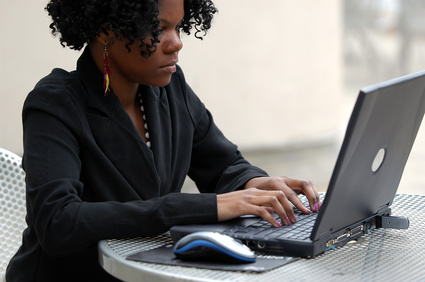 African-Americans are using the internet for job searches more than any other group.  (Photo credit: Google Images)