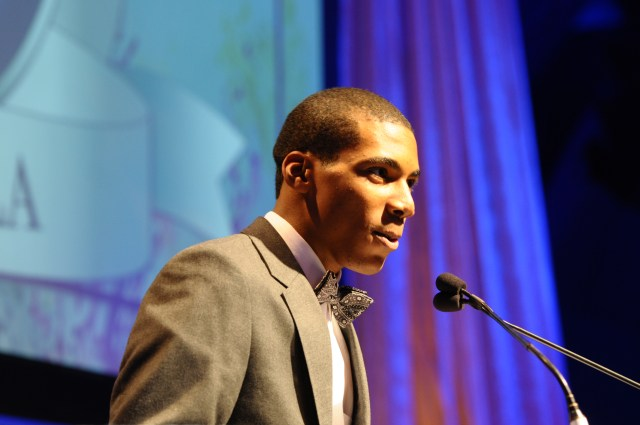 Teen Environmentalist and entrepreneur Charles Orgbon is CEO of Greening Forward. (Photo Credit: Donna Permell)