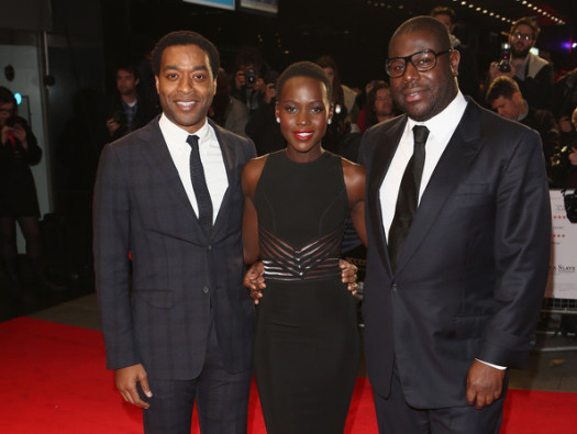 Actors Chiwetel Ejiofor and  Lupita Nyong'o and Director Steve McQueen receive Golden Globe nominations for 12 Years a Slave. (Photo Credit: Google Images)